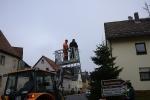 Aufstellen Weihnachtsbaum 2020_5